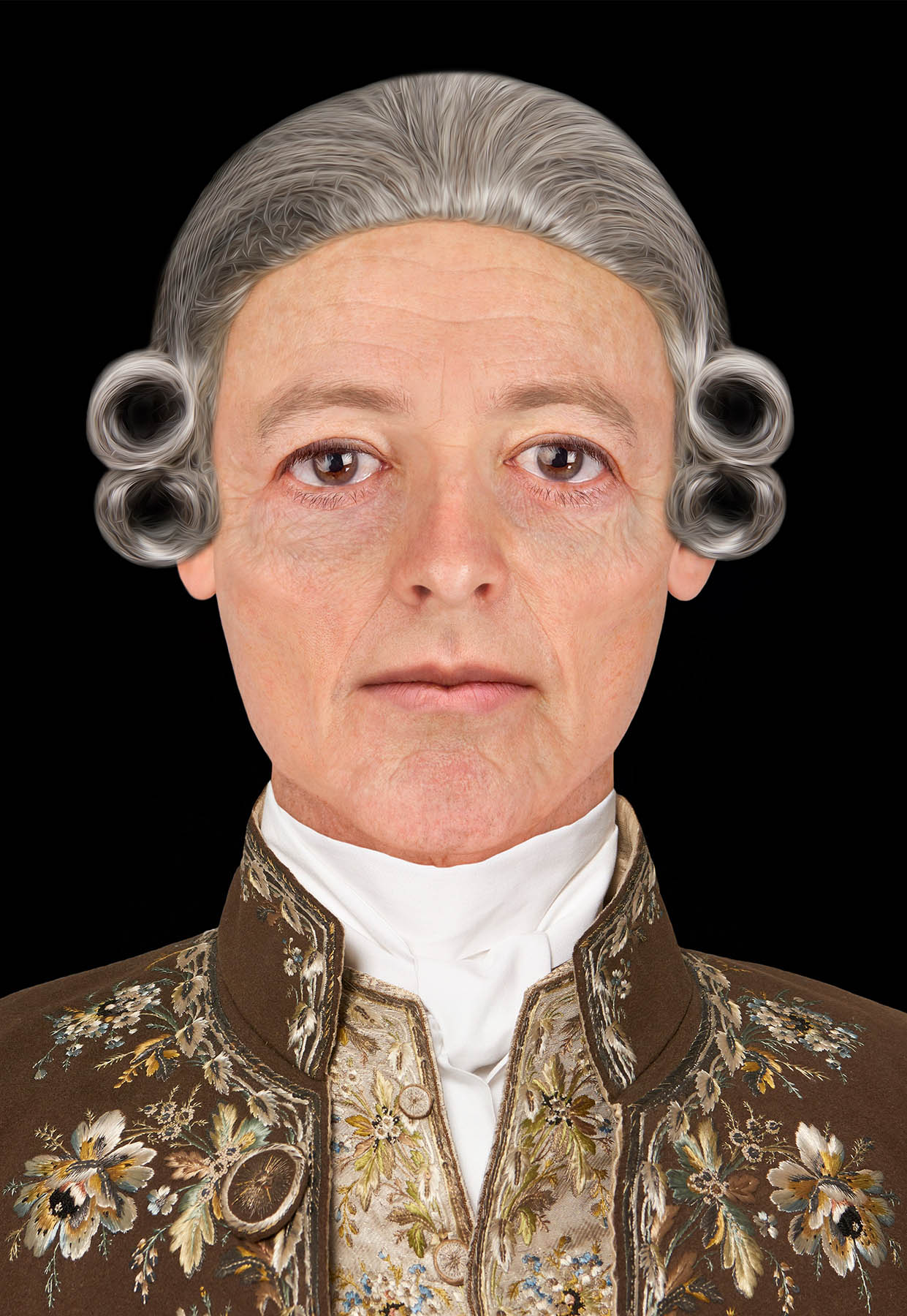 Charles Edward Stuart forensic facial depiction by Hew Morrison